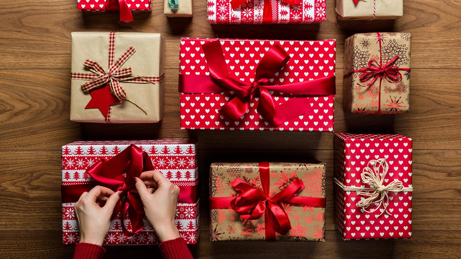 Christmas is the time for giving